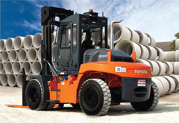 Get 4 months free leasing on Toyota Heavy Duty forklift models